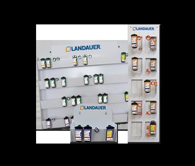 Dosimeterförvaringstavlor